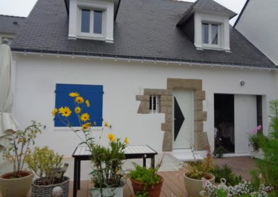 Ravalement de façade (Le Croisic)