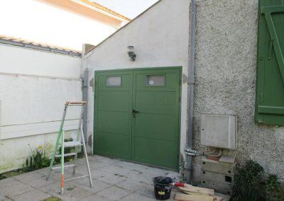 Portail garage (Le Pouliguen)