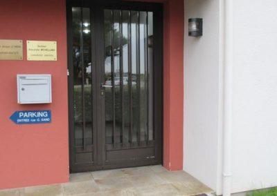 Porte d'entrée Cabinet dentaire (Montoir de Bretagne)
