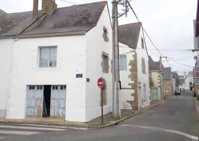 Ravalement de façade (Guérande)