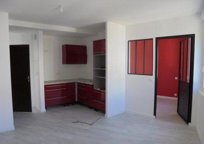 Rénovation complète appartement (Le Pouliguen)