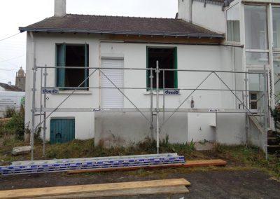 Rénovation complète d'une maison (Batz Sur Mer)
