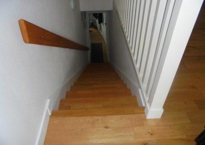 Rénovation habillage escalier (Le Croisic)
